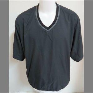 XL Black NIKE Golf MENS Polyester #93I Jacket